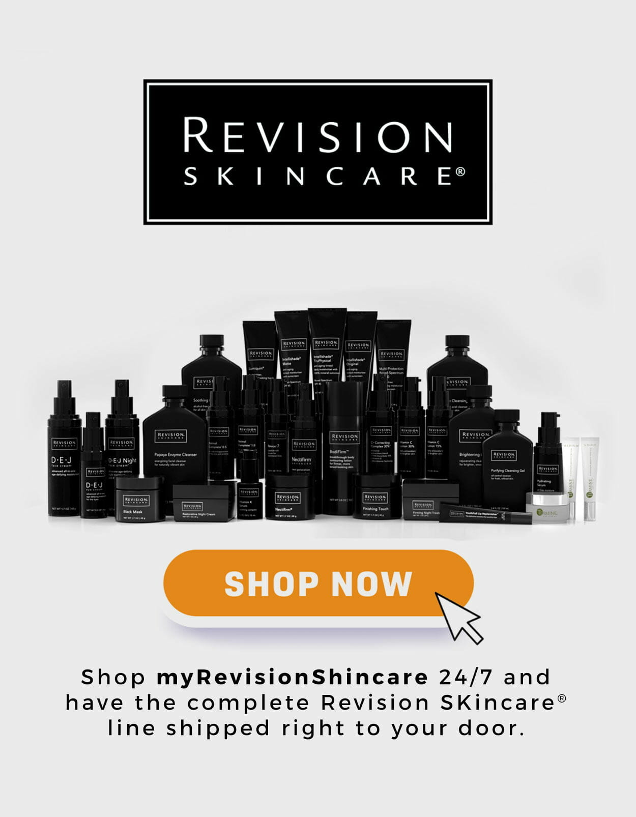 Revision Skincare Spa Products at Solana Aesthetics and Wellness in Lemont, Illinois
